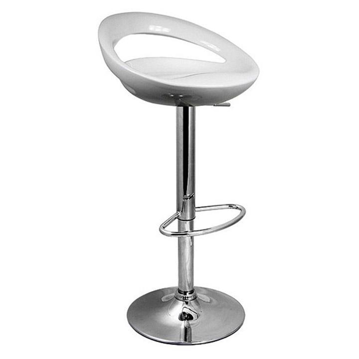 Silla de bar congo blanca ofikasa for Sillas para bar economicas